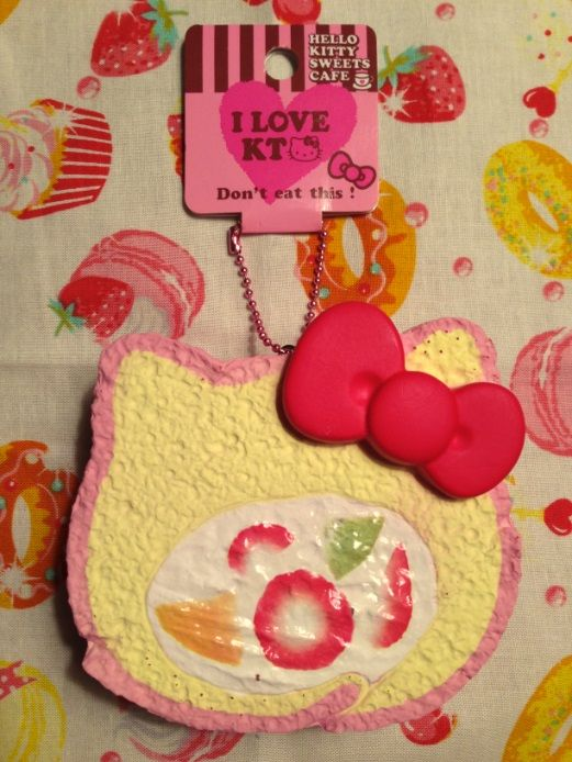 Hello Kitty Fruit Cake Roll Squishy Squishies Pinterest Hello kitty and Kitty