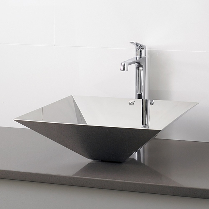 Decolav Stainless Steel Vessel Sink.