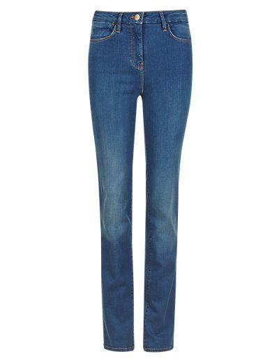 Sculpt & Lift Straight Leg Jeans | M&S