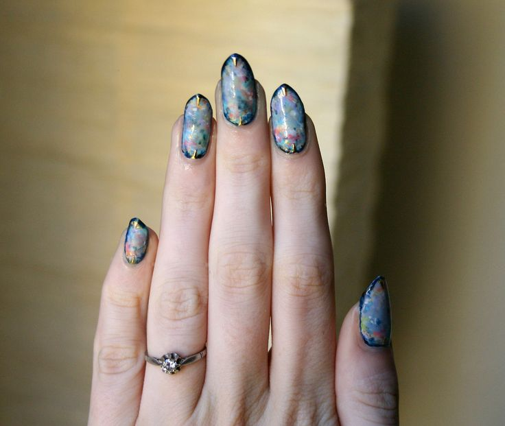 Best 25 Opal Nails Ideas On Pinterest Foil Nail Art