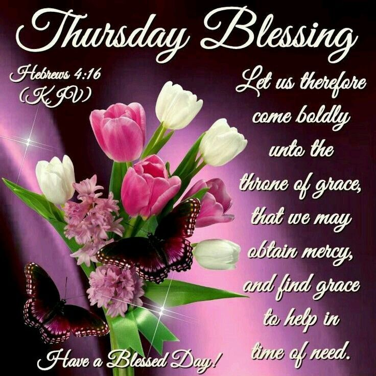 Blessed Day Quotes From The Bible: 144 Best Images About Thursday's Good Morning/Blessings On
