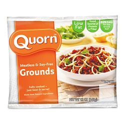Quorn grounds are FODMAP-friendly! Who knew? None of the other products are, however.
