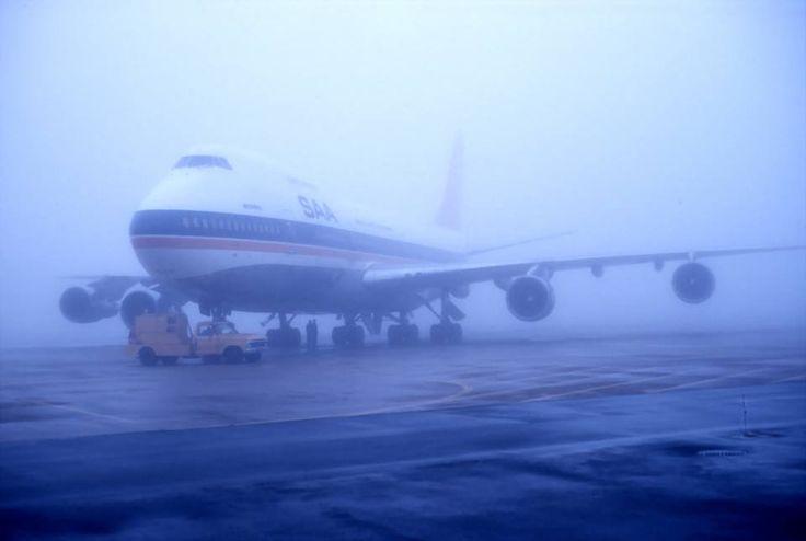 SAA 747 in Windhoek