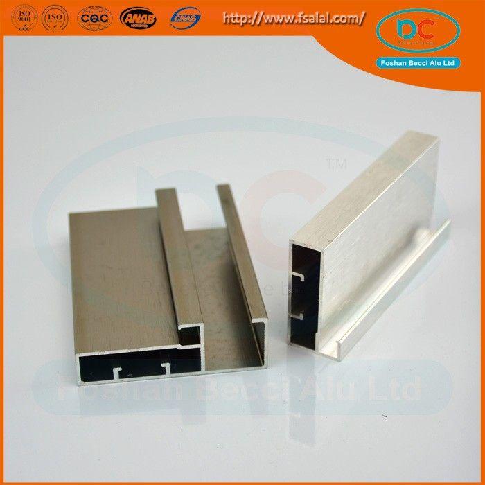 Kitchen Cabinet anodized extruded aluminium price per kg
