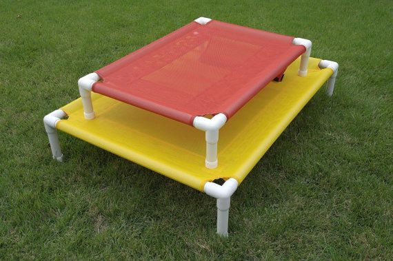 Outside Dog Cot Custom Made Dog Cots Dog Beds by DianesK9Creations