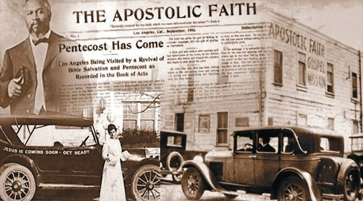 Why was the Azusa street revival so dynamic? Meetings began at 10 o'clock every morning and continued until near midnight...