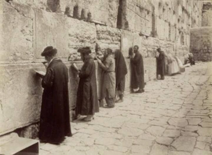 shavuot at the kotel