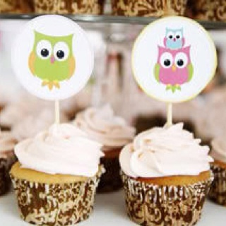 Cupcakes de corujinha!!: Shower Ideas, Owl Baby, Baby Shower Cupcakes, Birthday Parties, Owl Ideas, Owl Cupcakes, Parties Ideas, Owl Shower, Owl Parties
