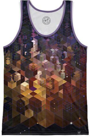 Electric City Men's Echo Beach Tank by Angelo Cerantola | Nuvango