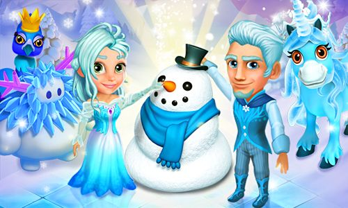 Royal Story Christmas Collection 2014: Snowy costumes, animals and decorations! #royalstorygame