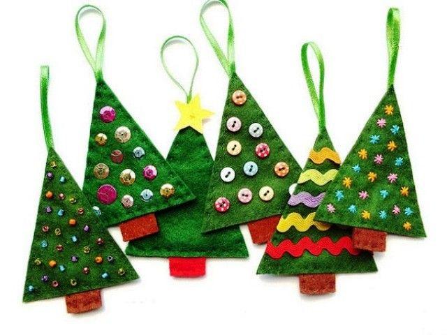 Елочные украшения своими руками | Как сделать новогодние елочные игрушки своими руками