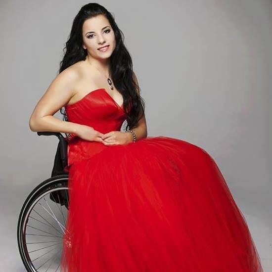Wedding dresses for wheelchair users : Images about wheelchair fashion on
