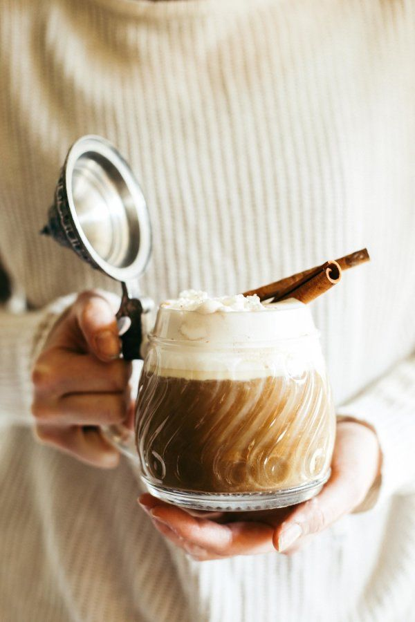 Pumpkin spice latte recipe: http://www.stylemepretty.com/living/2016/10/26/this-boozy-pumpkin-spice-latte-is-far-from-basic/