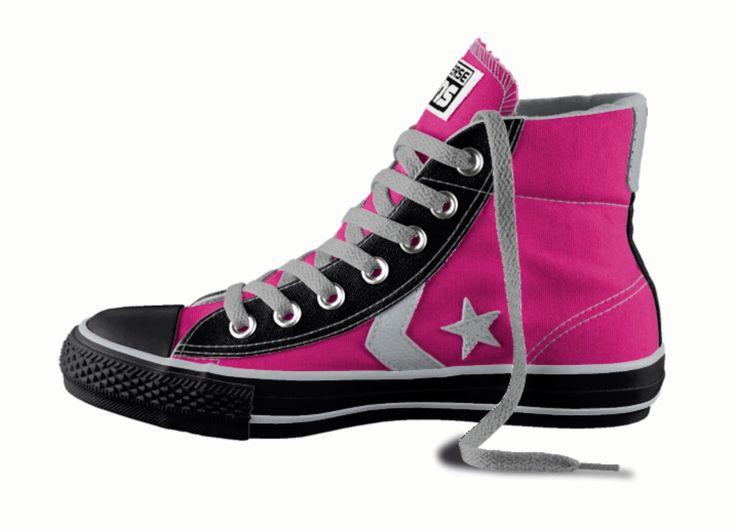 converse lilac star player