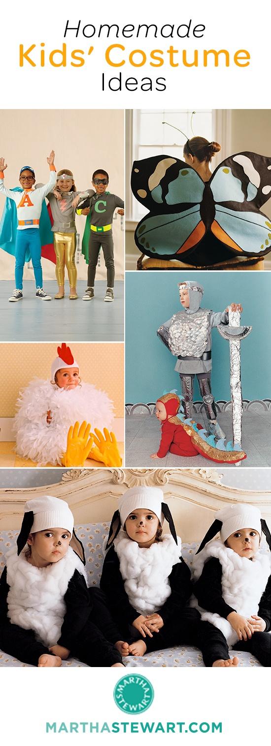 51+ homemade kids' Halloween costume ideas.