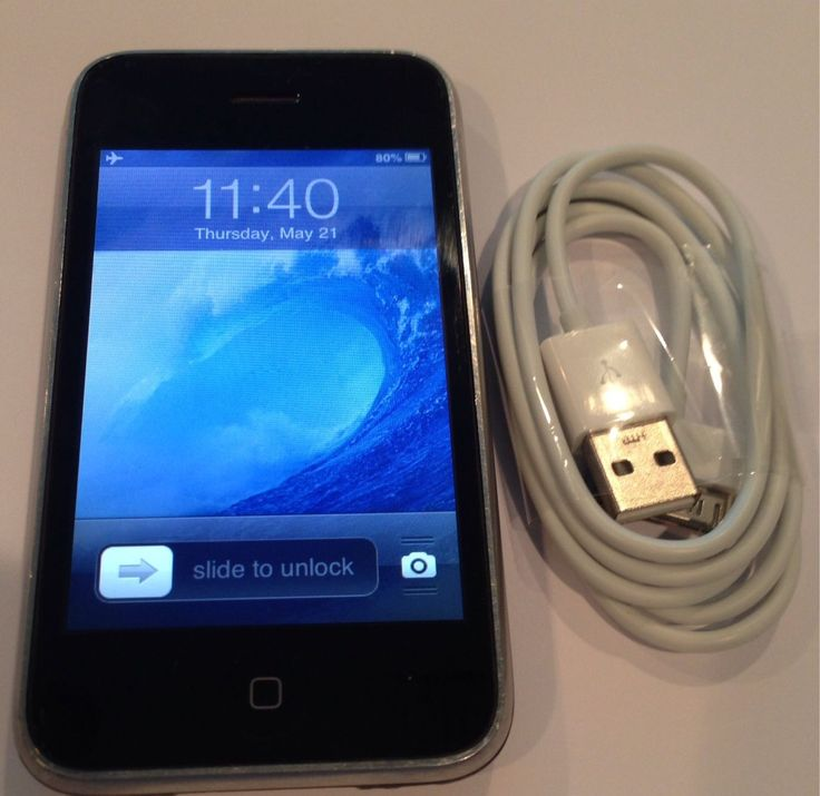 Apple iPhone 3G - 8GB - Black (Unlocked) Smartphone | eBay