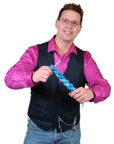 Michael Sellick, online crochet and loom knitting teacher. Teaching millions of viewers how to crochet and knit absolutely free. He is the Creative Director of The Crochet Crowd and many affiliate crafting companies who use his social marketing techniques for video creation.