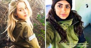 18Chicas del ejército israelí cuya belleza tedeja sin aliento