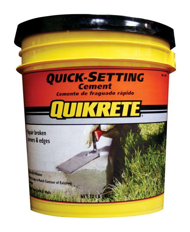 Quick Setting Cement 20 Walmart Com Fast Setting Concrete Concrete Mixes Cement