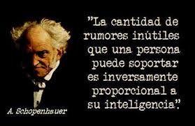 Resultado de imagen para schopenhauer frases