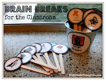 3rd Grade Thoughts: NEW: Brain Breaks for the Classroom