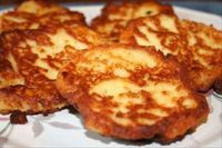 Mashed Potato Pancakes Southern Style.  AR Families Writes: When we had left over mashed potatoes, my momma would make what she called potato pancakes.  This recipe is close to hers...for sure, she did not include sour cream, Tabasco sauce, or garlic.  She always cooked them in a cast iron skillet.  This is a food memory for me!   (1) From: Southern Food (2) Website has Convenient Pin It Button