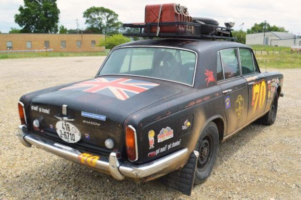 Paris-Dakar Tribute: 1970 Rolls-Royce Silver Shadow