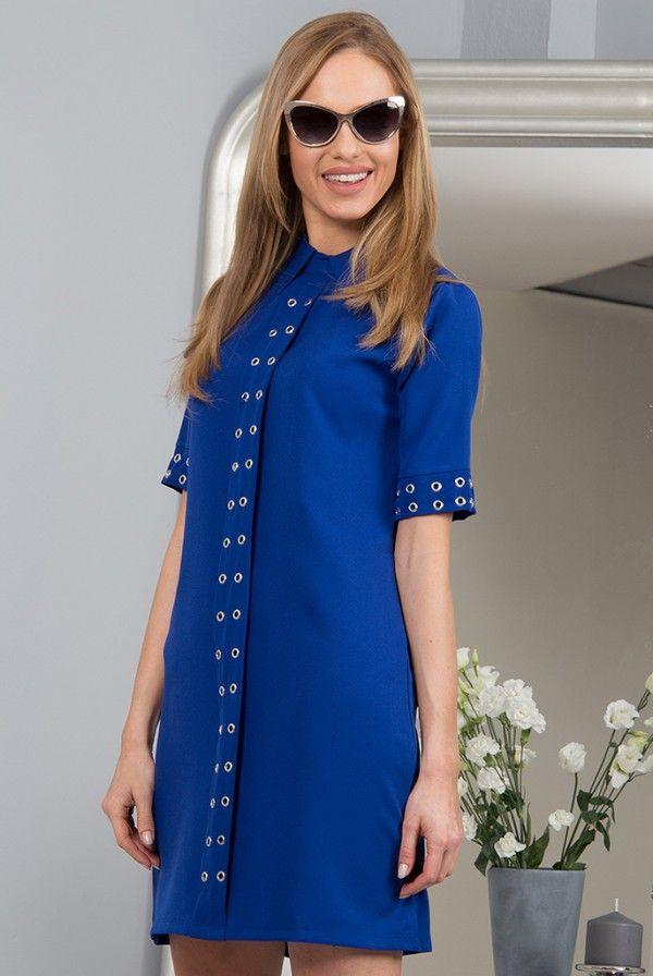 Sukienka chabrowa 98700