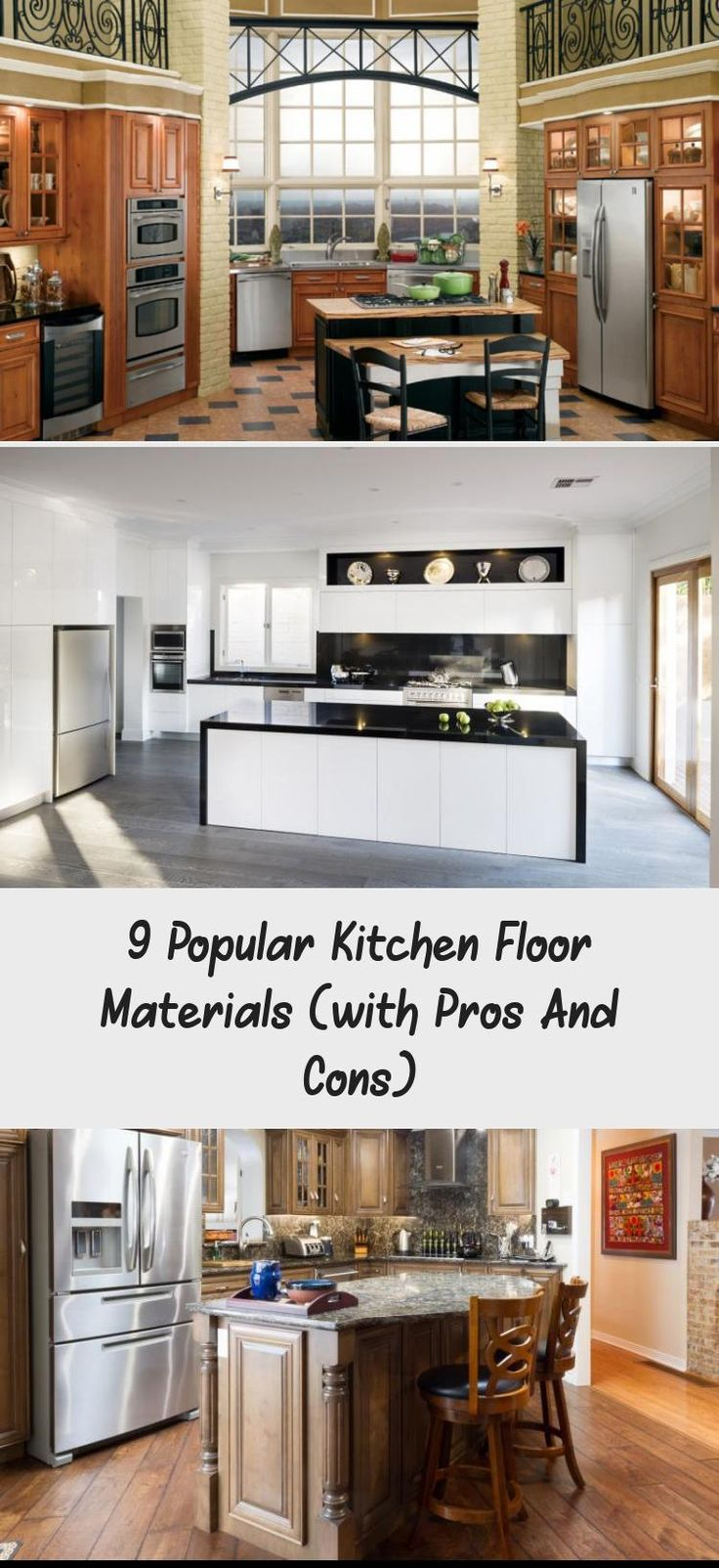 9 Popular Kitchen Floor Materials (with Pros And Cons