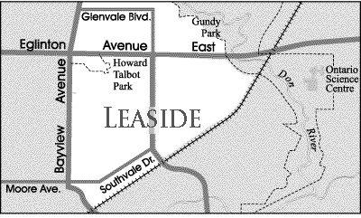 Toronto Neighbourhood Guide - Leaside - Neighbourhoods