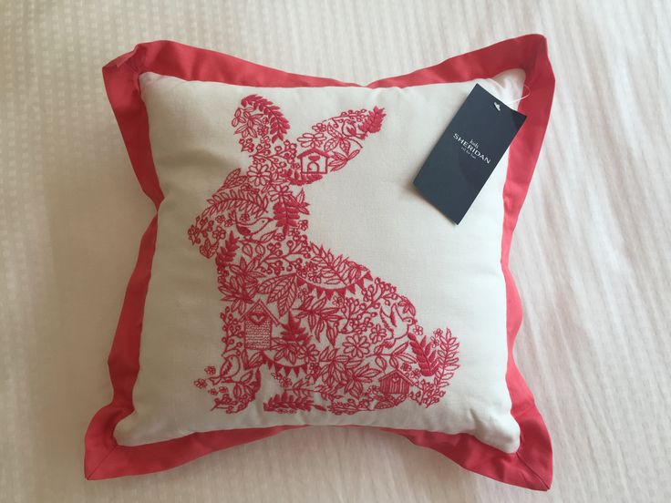 Their cute, soft and Easter Bunny approved... gorgeous Sheridan cushions available now @ SeasonS Bazaar Australia  ~ #easter #bunny #rabbit #easterhunt #chocolatefree #decor #homewares #forkids #forwomen #forher #forteens #gifts #gadgets #noveltygift #giftsfor #sheridan #home #house #baby #nursery #bedroom #lounge