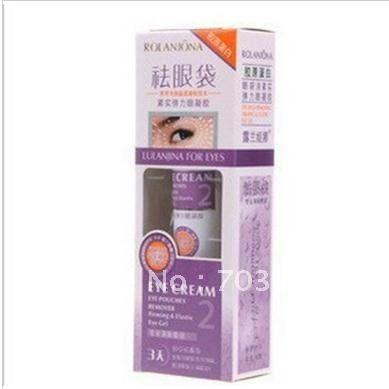 Contra genuína de Lan Jona remover bolsas sob os olhos, Firme e elástica eye gel, 3 dias profissional, Remoção de inchaço dos olhos alishoppbrasil