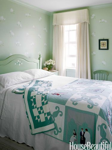 A Sunny Row House  Pale Green BedroomsColorful. 17 Best ideas about Pale Green Bedrooms on Pinterest   Green