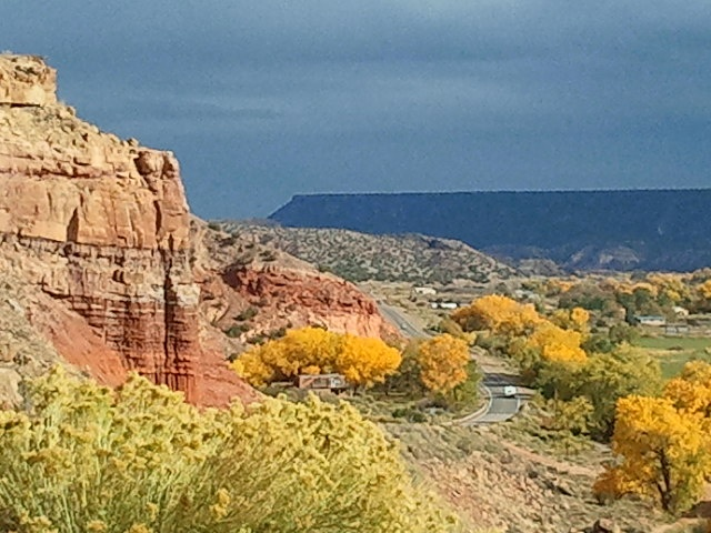 Northern New Mexico in the fall...  out side of Espanola, NM