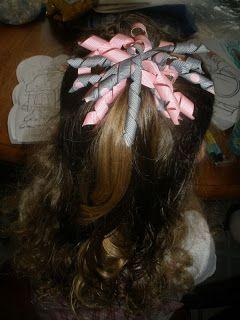 Columbus Multiple Moms: Amanda's Saving Money the Homemade Way - Homemade Hair Bows
