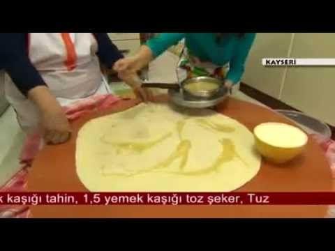 Tahinli Katmer Tarifi Mutfağım Kayseri Vildan Hanım 3 Mart 2014