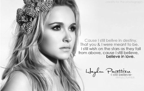 138 best Hayden Panett... Hayden Panettiere Lyrics