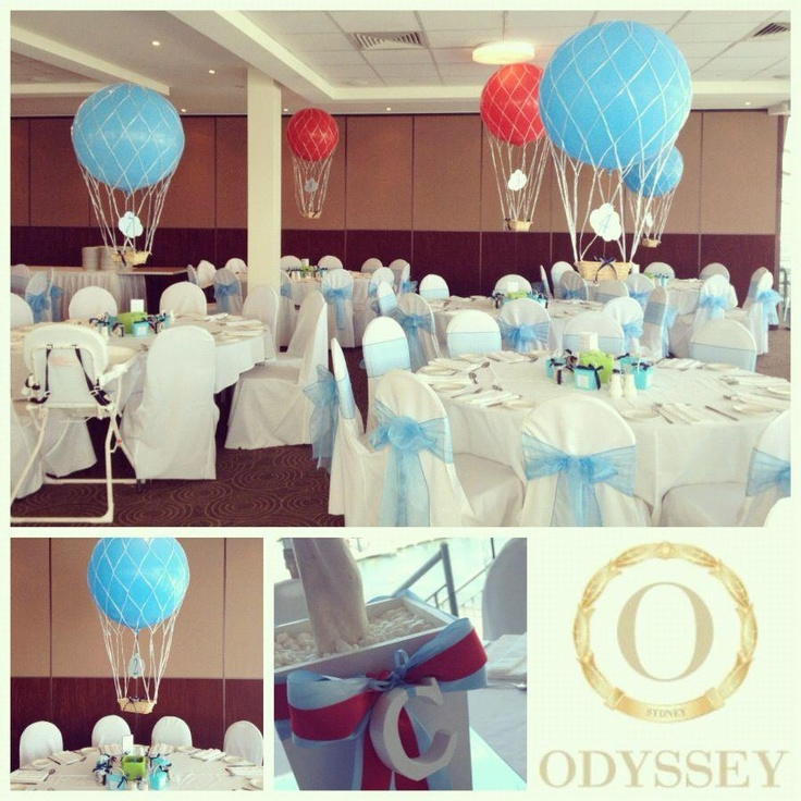 17 best images about hot air balloon on pinterest for Balloon decoration for naming ceremony
