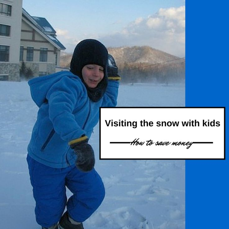 Money saving tips for visiting the Australian snow fields with kids.