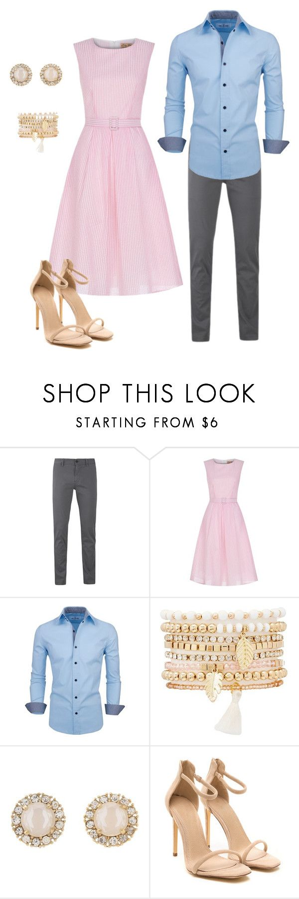 """""""Engagement session outfit"""" by erica-jacobson on Polyvore featuring BOSS Orange, Charlotte Russe and Kate Spade"""
