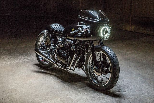 The Royal Racer - Kikishop Honda CB500 via returnofthecaferacers.com