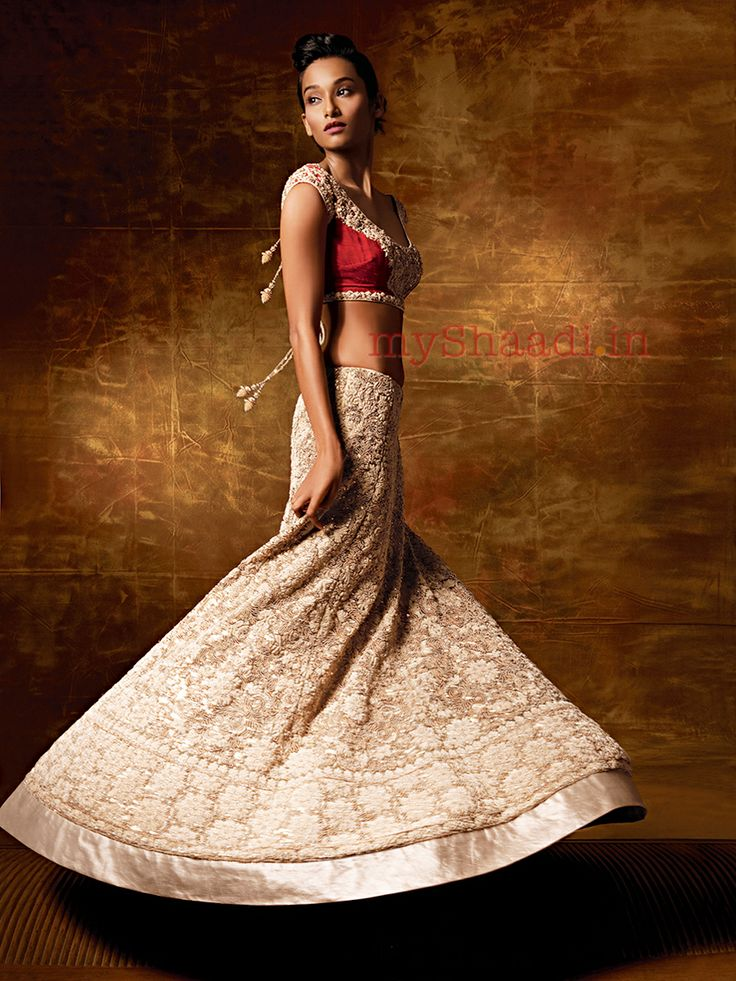 Indian Bridal Wear, Pallavi Jaikishan | Myshaadi.in#bridal wear#india#bridal lehengas#designer bridal outfits#indian wedding
