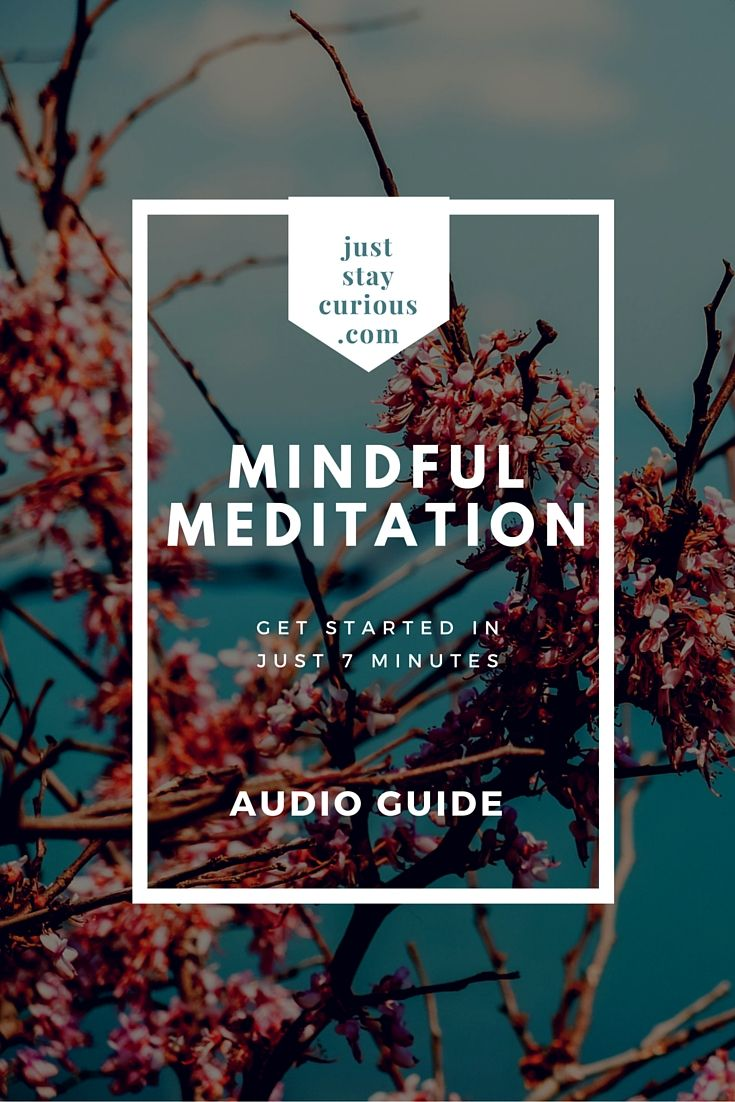 You know the benefits of meditation, but do you know where to start? Click the image to get your guided mindfulness meditation.