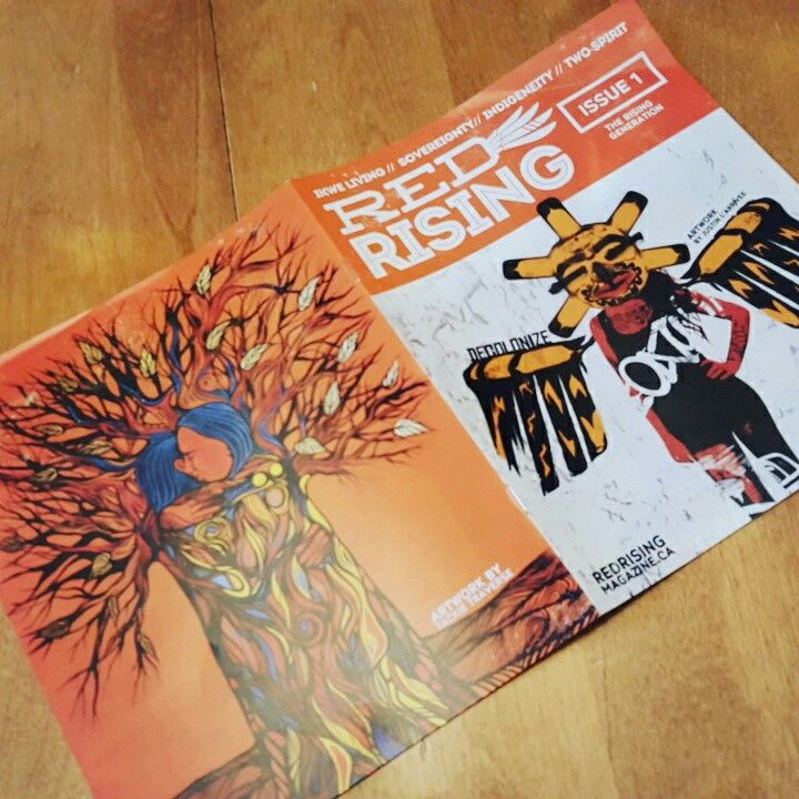 The inaugural edition of Red Rising!
