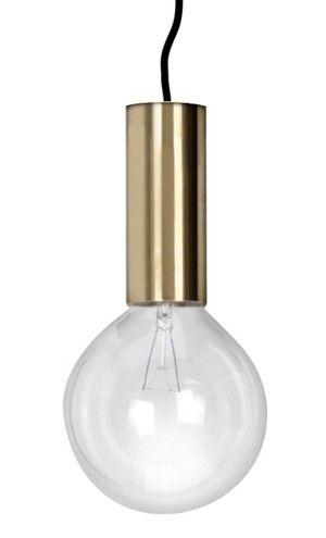 NEB brass lamp pendant