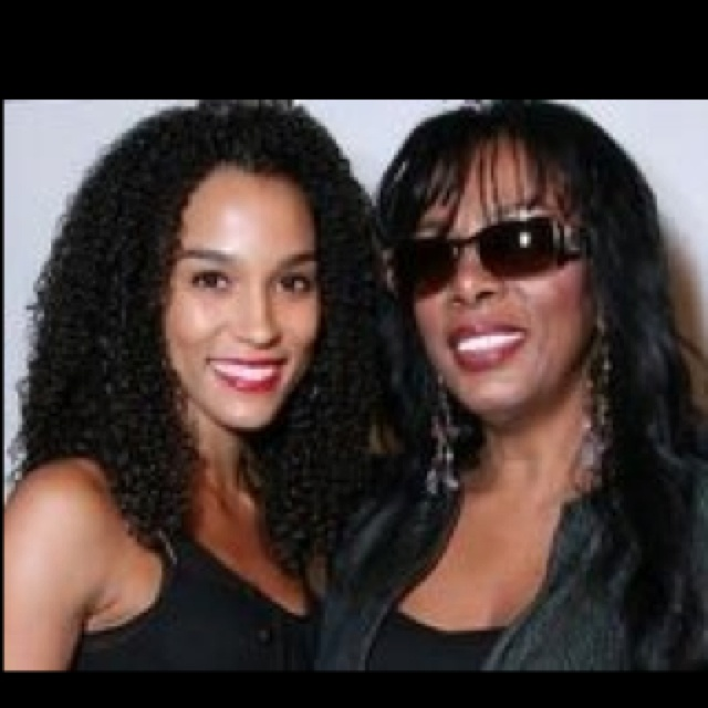 donna summer with her daughter brooklyn a mothers love