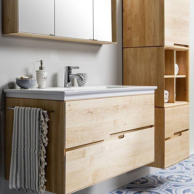 Badezimmer Mobel Aus Erle Badezimmer Mobel Badezimmer Badezimmermobel Holz