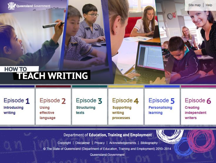How to teach writing. This self-paced coaching module provides Queensland teachers and pre-service teachers with research-validated information and advice to build teacher knowledge, skills and understanding of how to teach writing from Prep to Year 10 and in all learning areas.