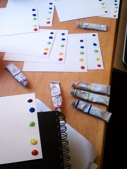 Make water color pages in advance and just add water for quick and easy paint activity in an instant