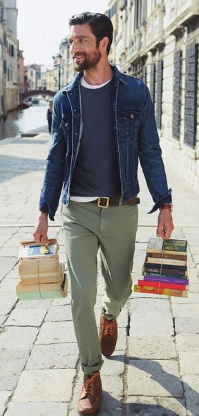 It's sneakers with suits, color blocks & pattern-mixing, denim jeans with  chambray.Crew there's more than one way to ...